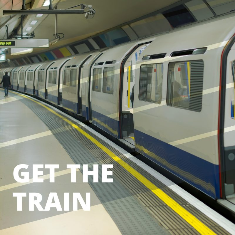 Getting to London City Airport - get the train